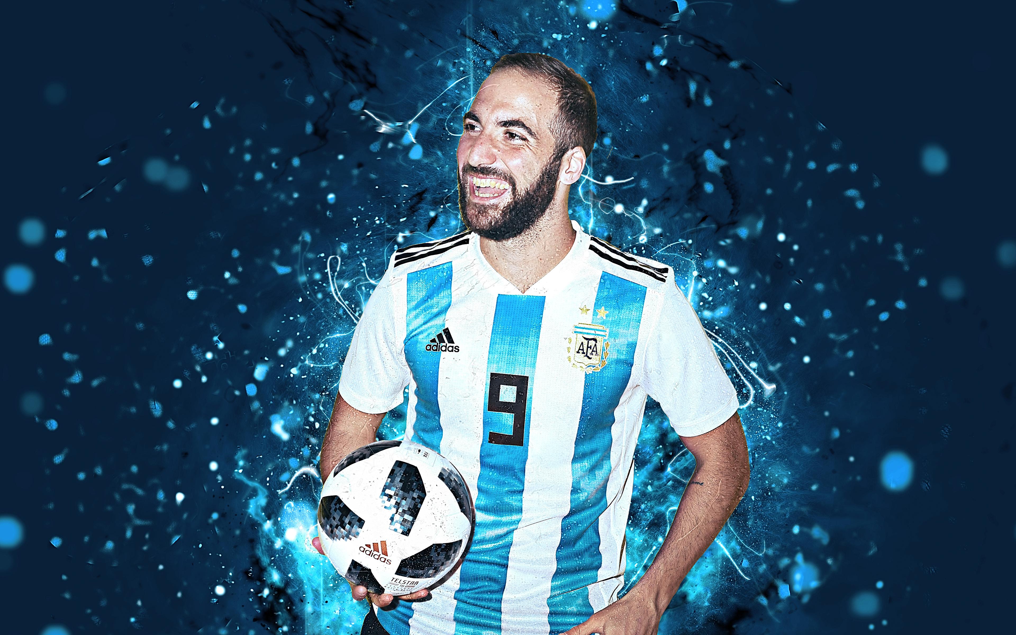 Gonzalo Higuaín 4k Ultra Hd Wallpaper Background Image 3840x2400