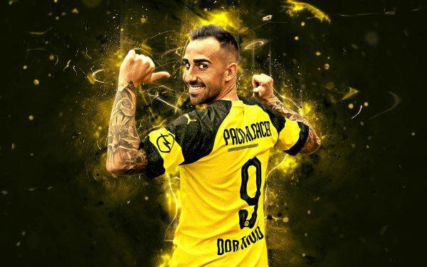 Sports Paco Alcácer Soccer Player Spanish Borussia Dortmund HD Wallpaper | Background Image