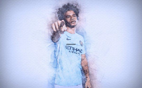 Sports Leroy Sané Soccer Player German Manchester City F.C. HD Wallpaper | Background Image