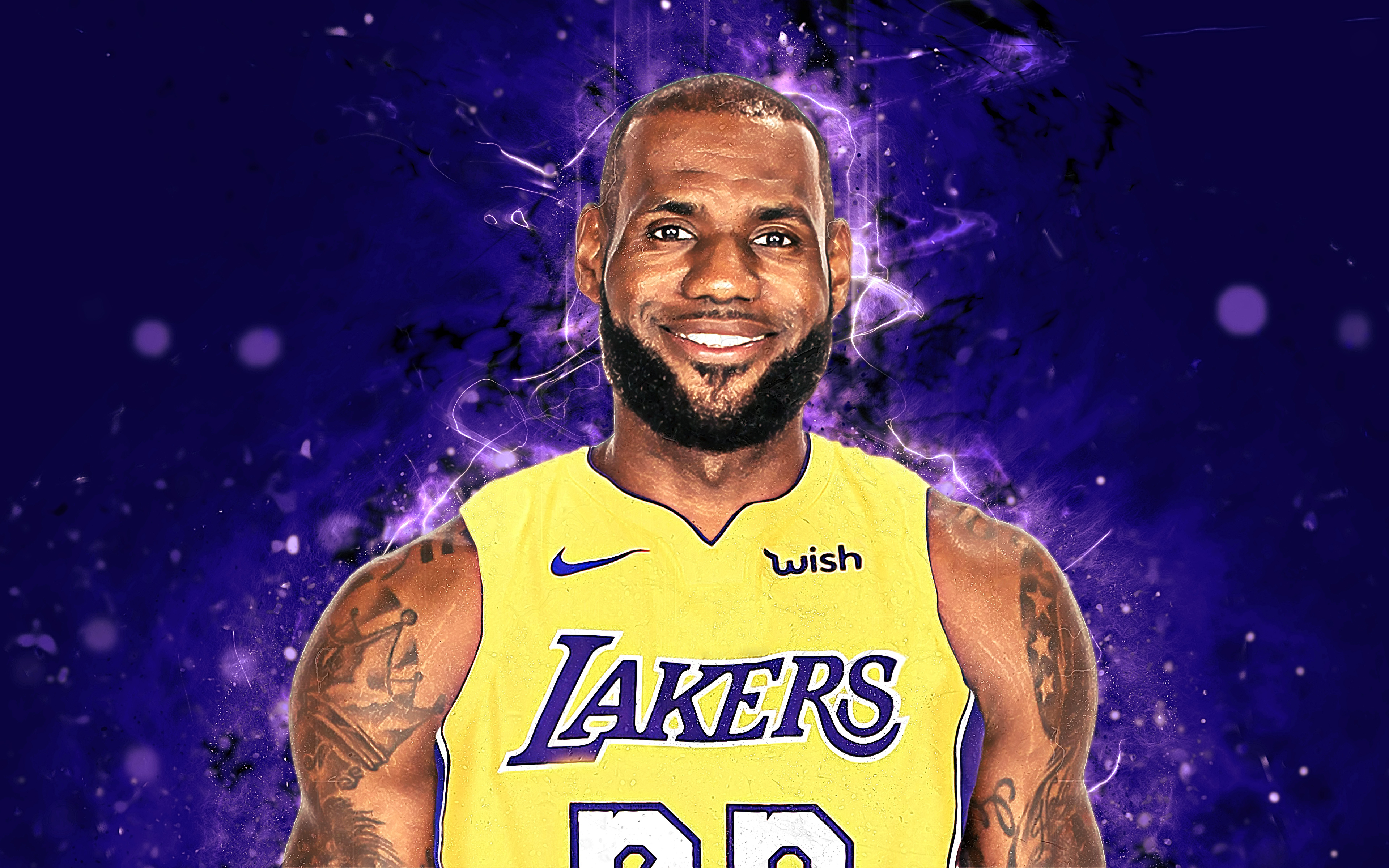 LeBron James 4k Ultra HD Wallpaper