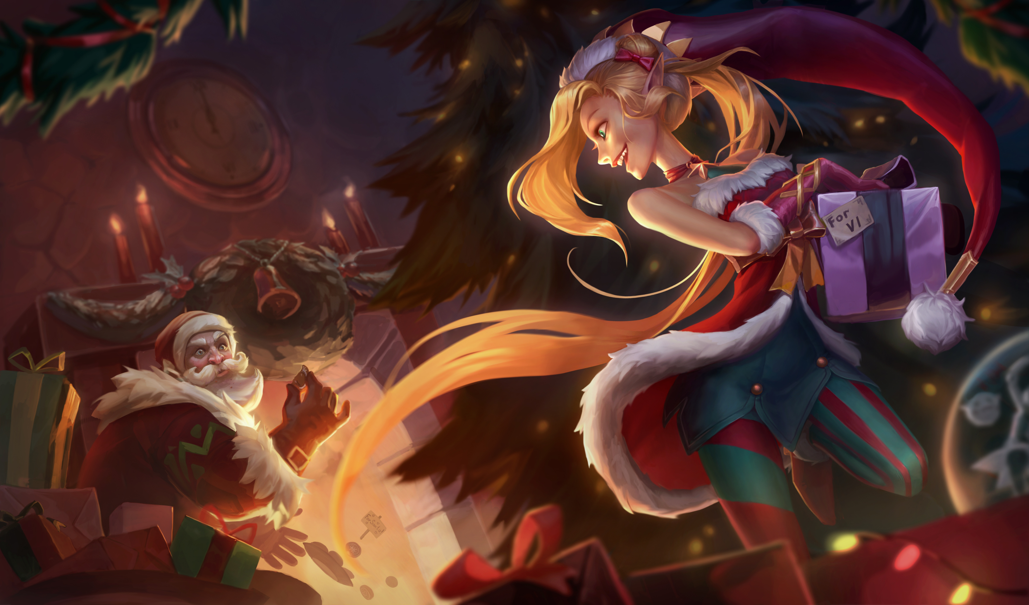 Jinx Christmas Hd Wallpaper Background Image 3518x2068 Id