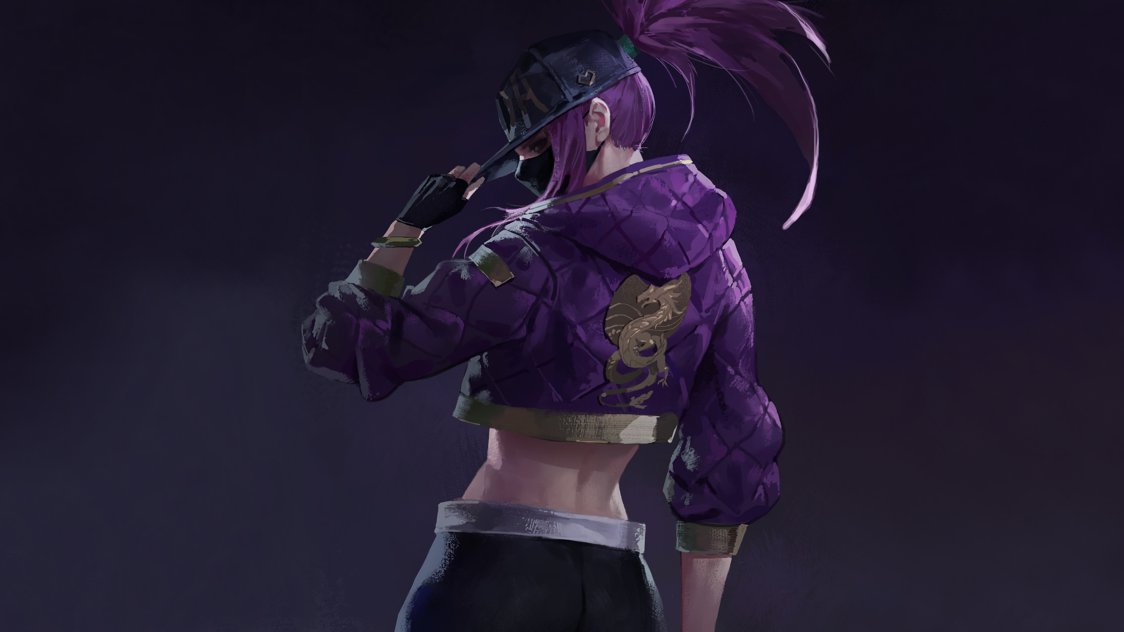 Kda Akali 4k Ultra Hd Wallpaper Hintergrund 3840x2160 Id