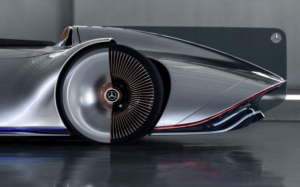 Vehicles Mercedes-Benz Vision EQS Mercedes-Benz HD Wallpaper | Background Image