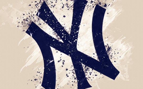Sports New York Yankees Baseball MLB Logo HD Wallpaper | Background Image