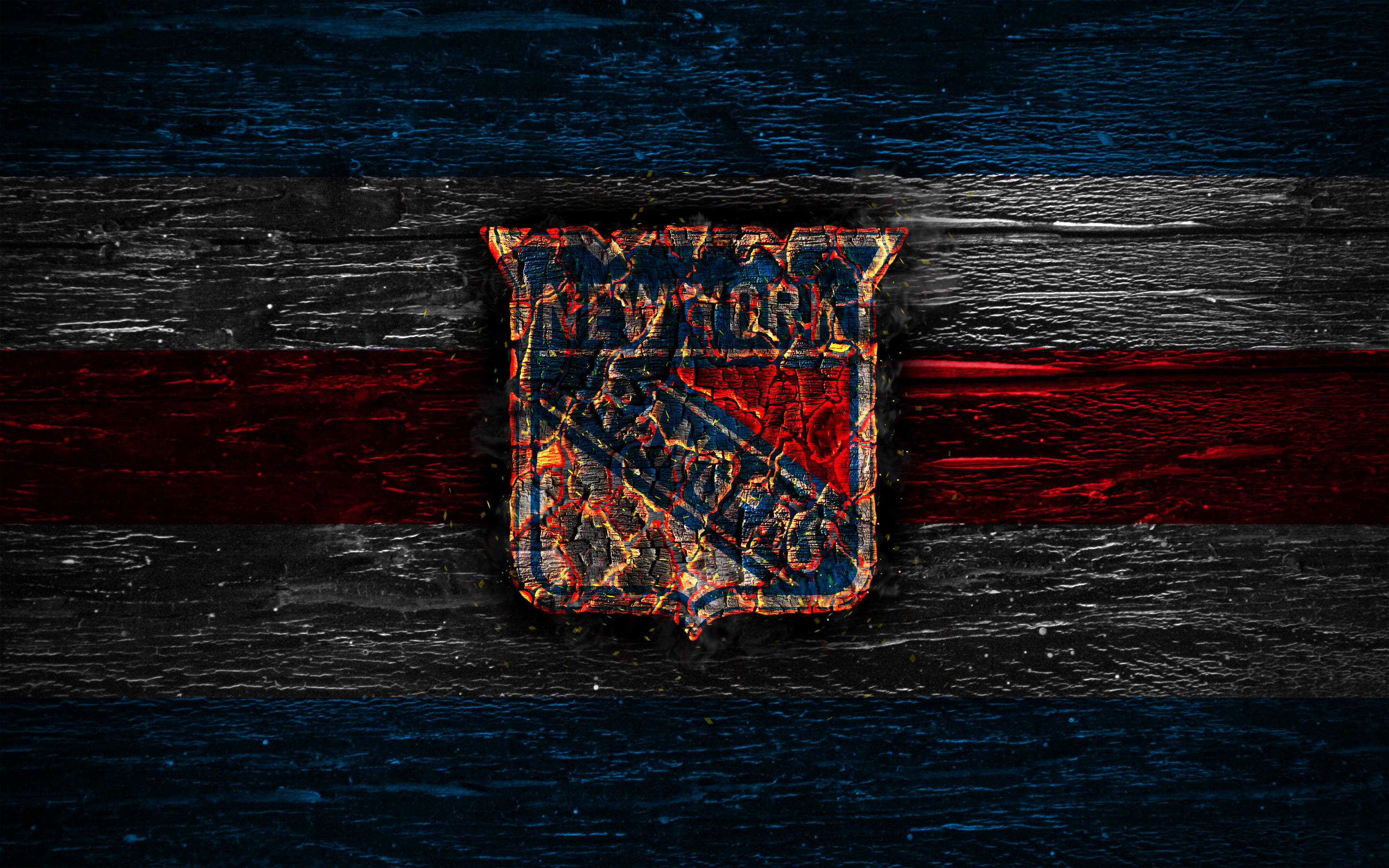 New York Rangers Hd Wallpaper Background Image 2880x1800 Id