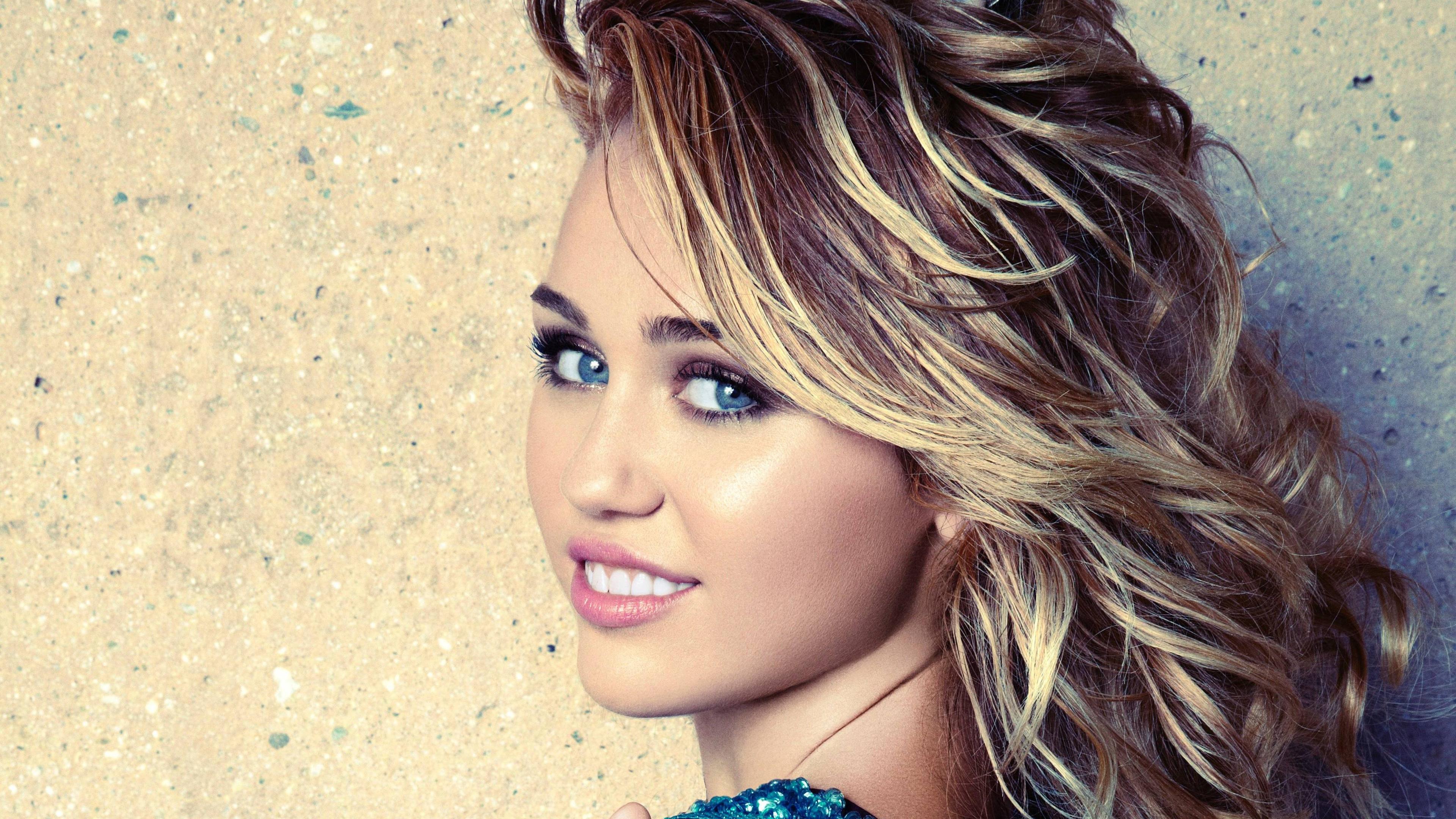 Miley Cyrus 4k Ultra Fondo De Pantalla Hd Fondo De