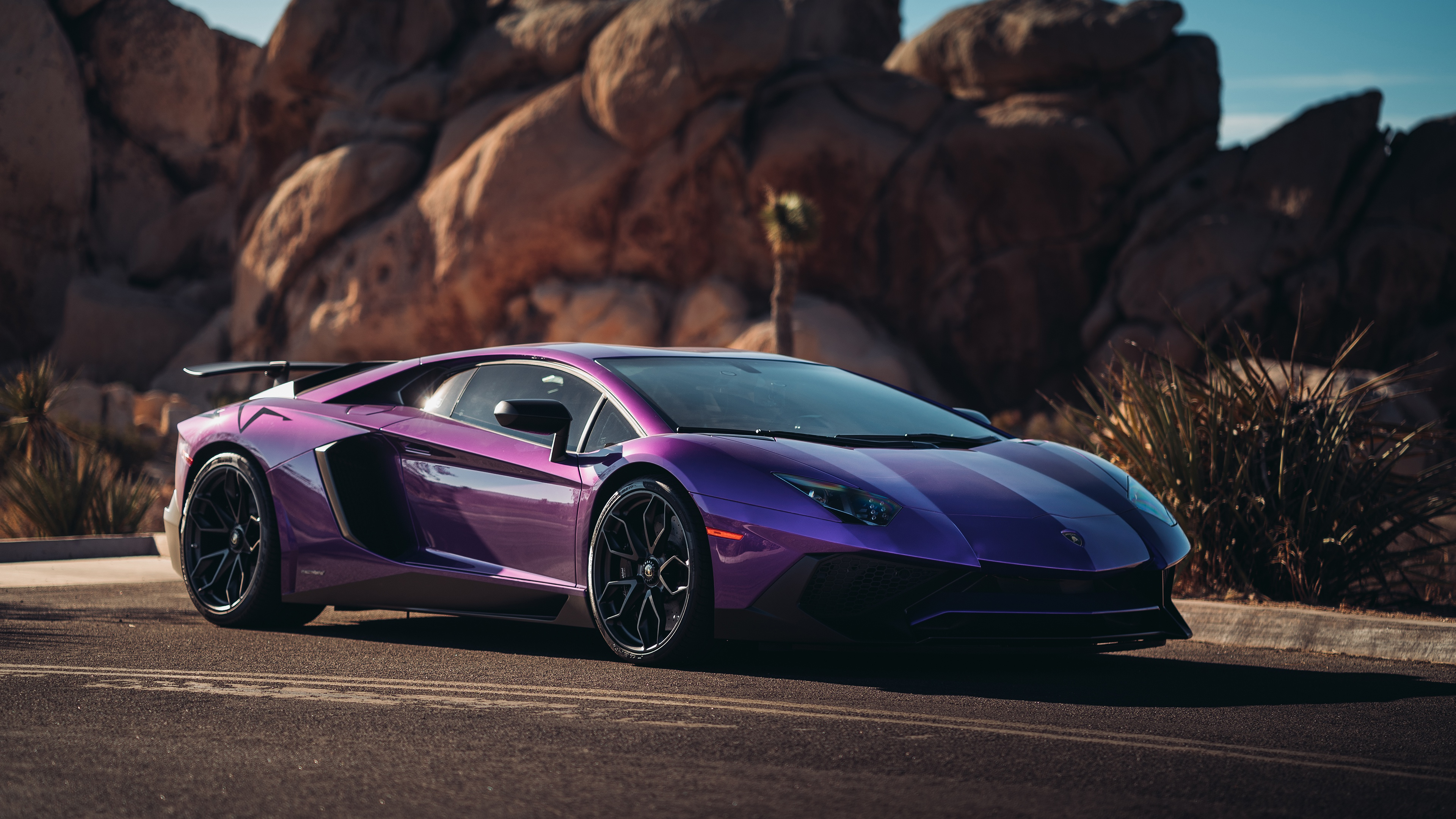 Lamborghini Aventador 4k Ultra Hd Wallpaper Background Image