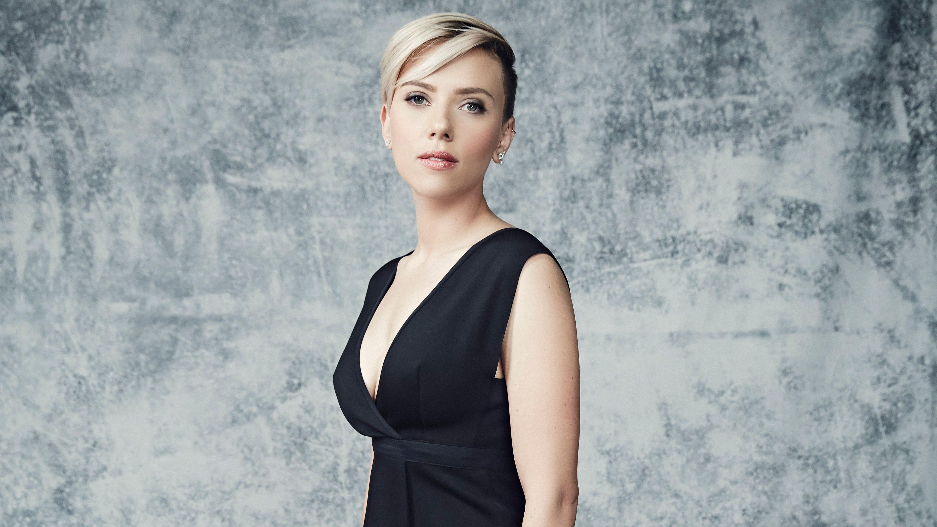 Scarlett Johansson 4k Ultra Fondo De Pantalla Hd Fondo De