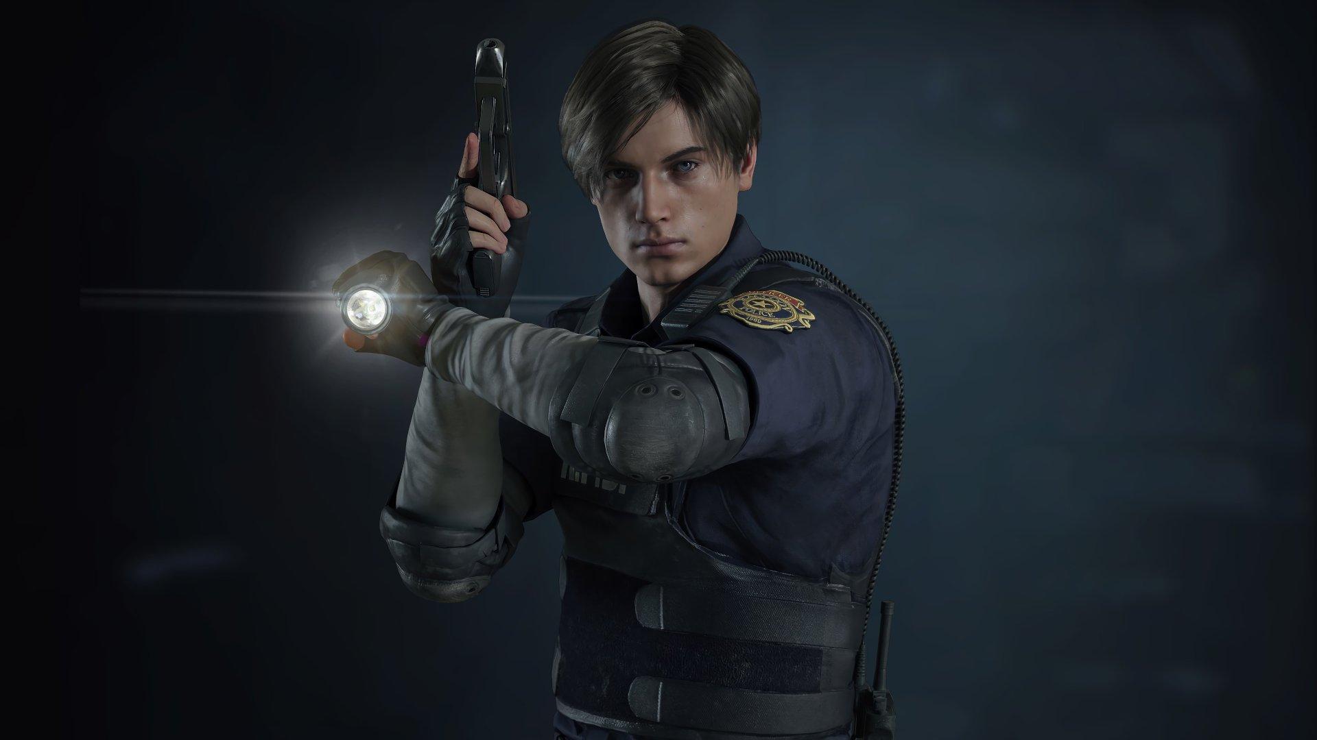 Resident Evil 2 (2019) Leon S. Kennedy 4k Ultra Fond d ...