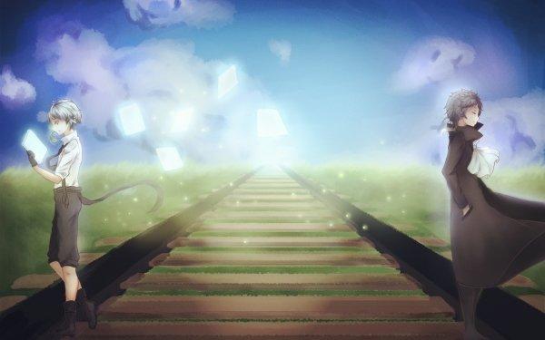 Anime Bungou Stray Dogs Atsushi Nakajima Ryūnosuke Akutagawa HD Wallpaper | Background Image