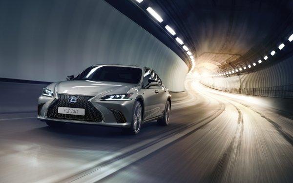 Véhicules Lexus ES 300H Lexus Voiture Silver Car Luxury Car Tunnel Fond d'écran HD | Arrière-Plan