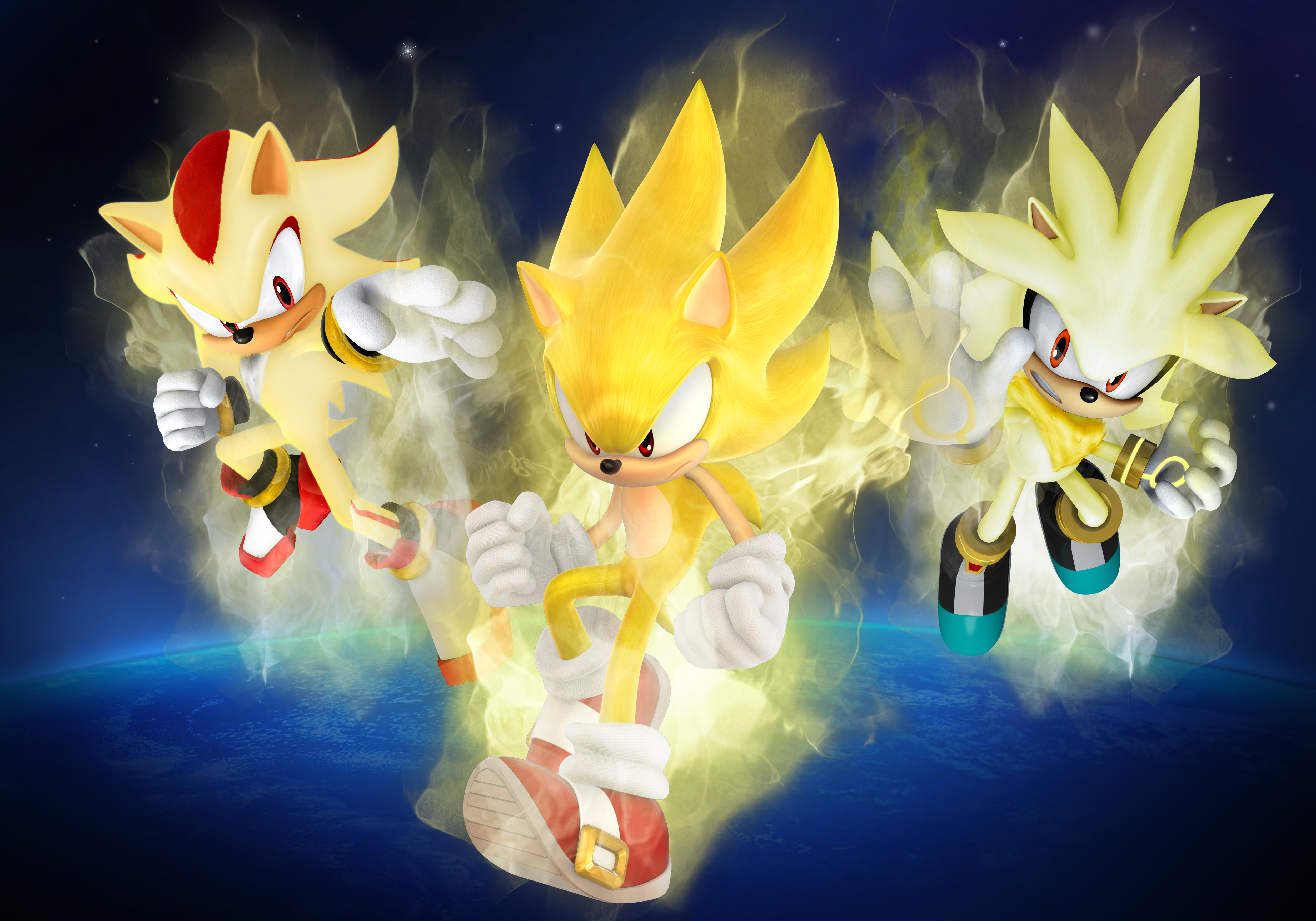 Sonic The Hedgehog 2006 4k Ultra Hd Wallpaper Background Image