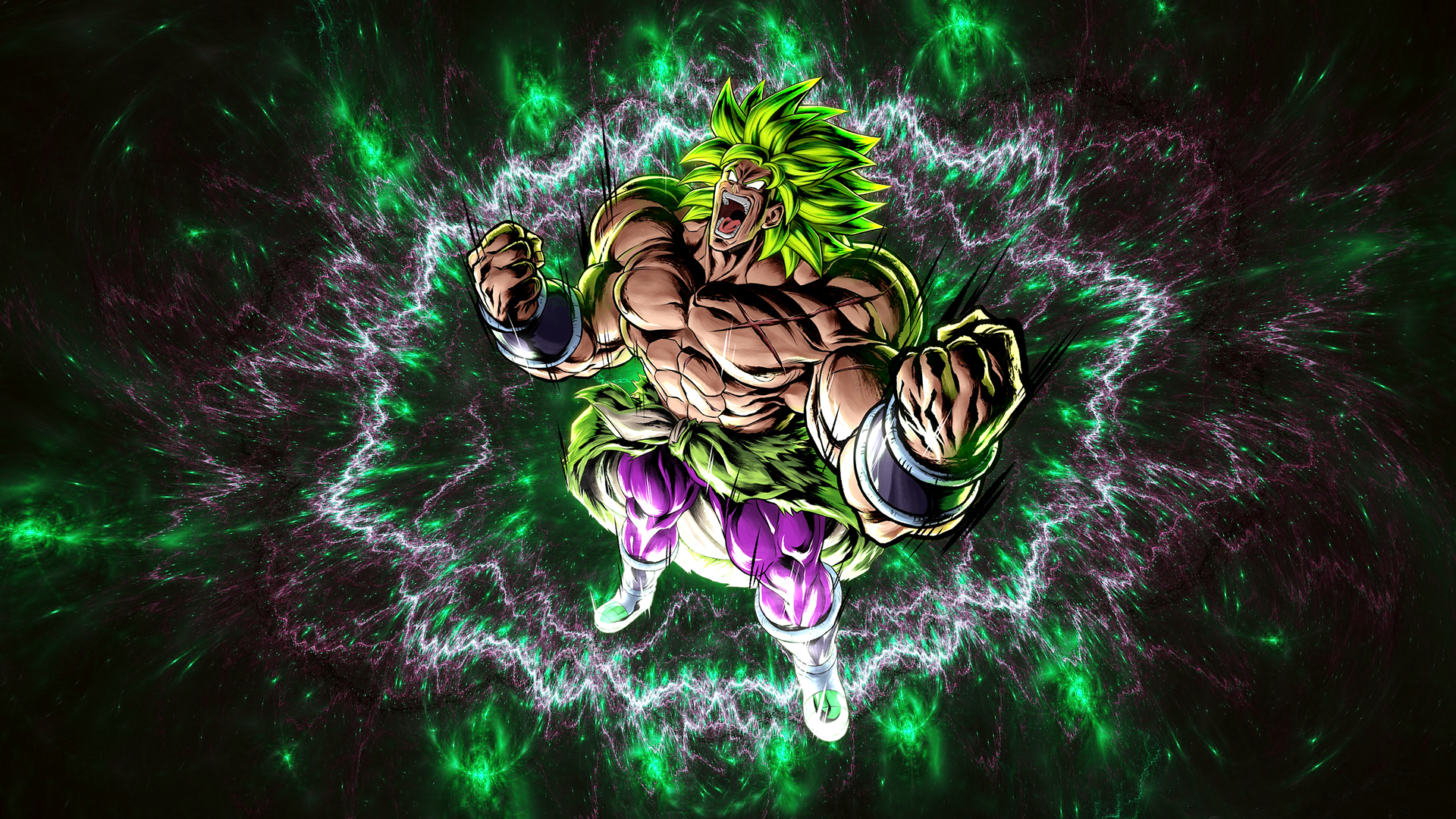 Broly Hd Wallpaper Background Image 1920x1080 Id 986002 Wallpaper Abyss
