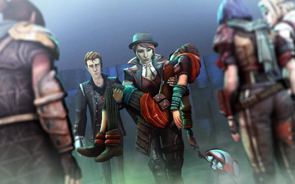 Video Game Tales From The Borderlands Borderlands Handsome Jack Athena HD Wallpaper   Background Image