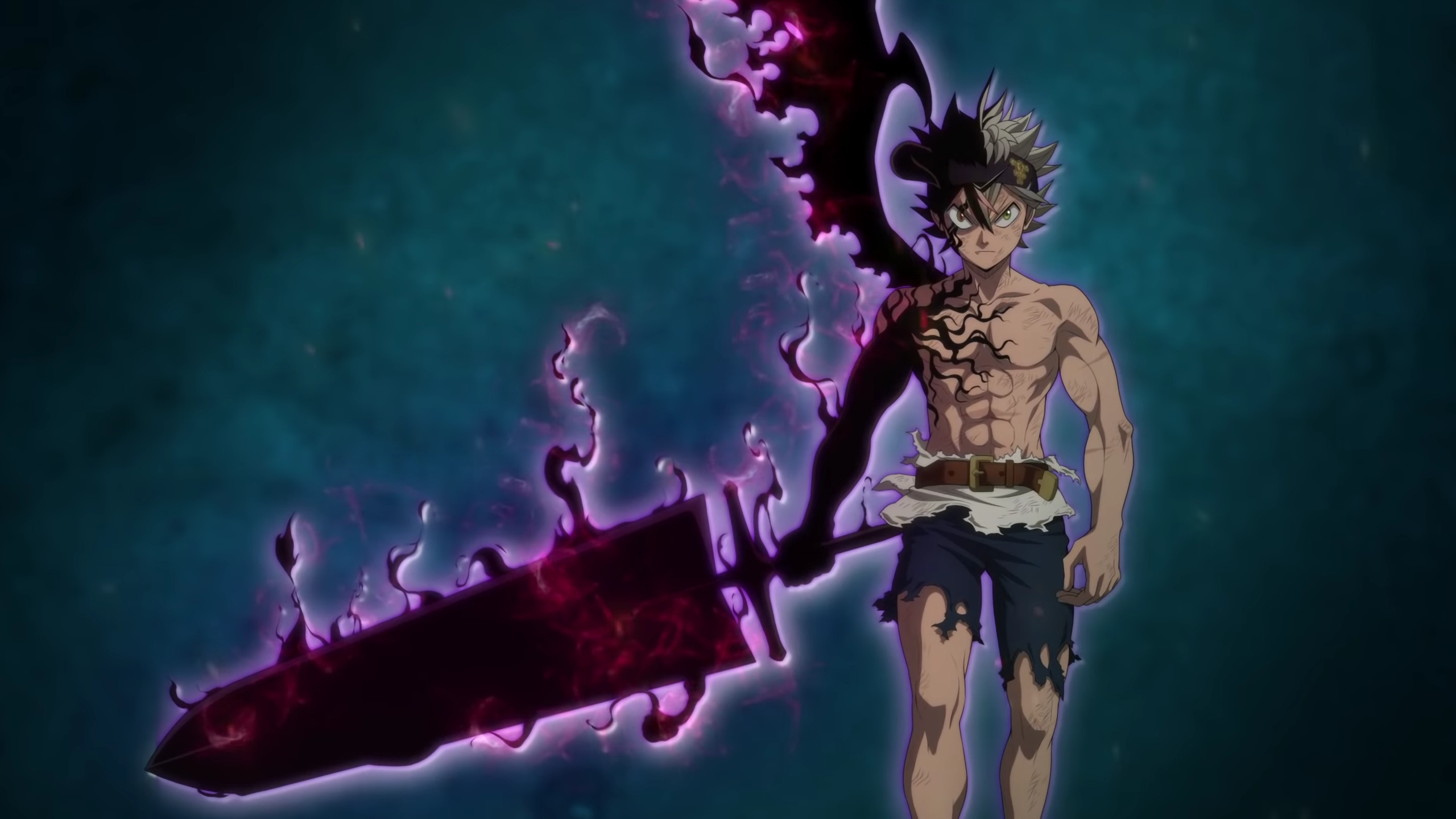 4000+ Wallpaper Hd Black Clover HD Paling Keren