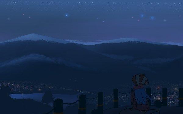 Anime Laid-Back Camp Fondo de pantalla HD   Fondo de Escritorio