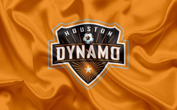 Sports Houston Dynamo FC Soccer Club MLS Logo Emblem HD Wallpaper   Background Image