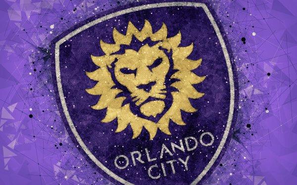 Sports Orlando City SC Soccer Club Logo Emblem MLS HD Wallpaper   Background Image