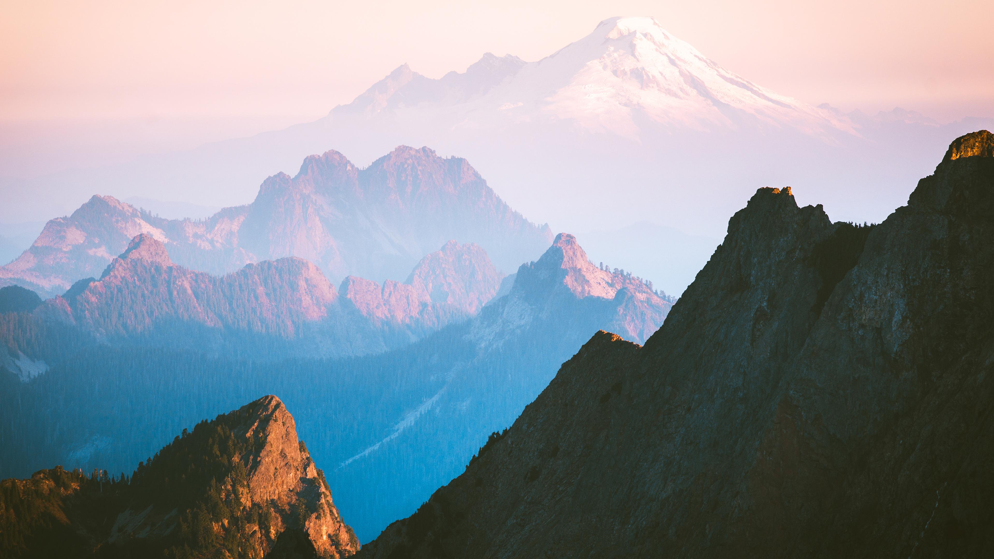 Mountain 4k Ultra Hd Wallpaper Background Image