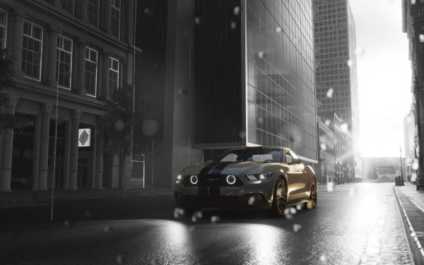 Video Game The Crew 2 Ford Mustang HD Wallpaper   Background Image