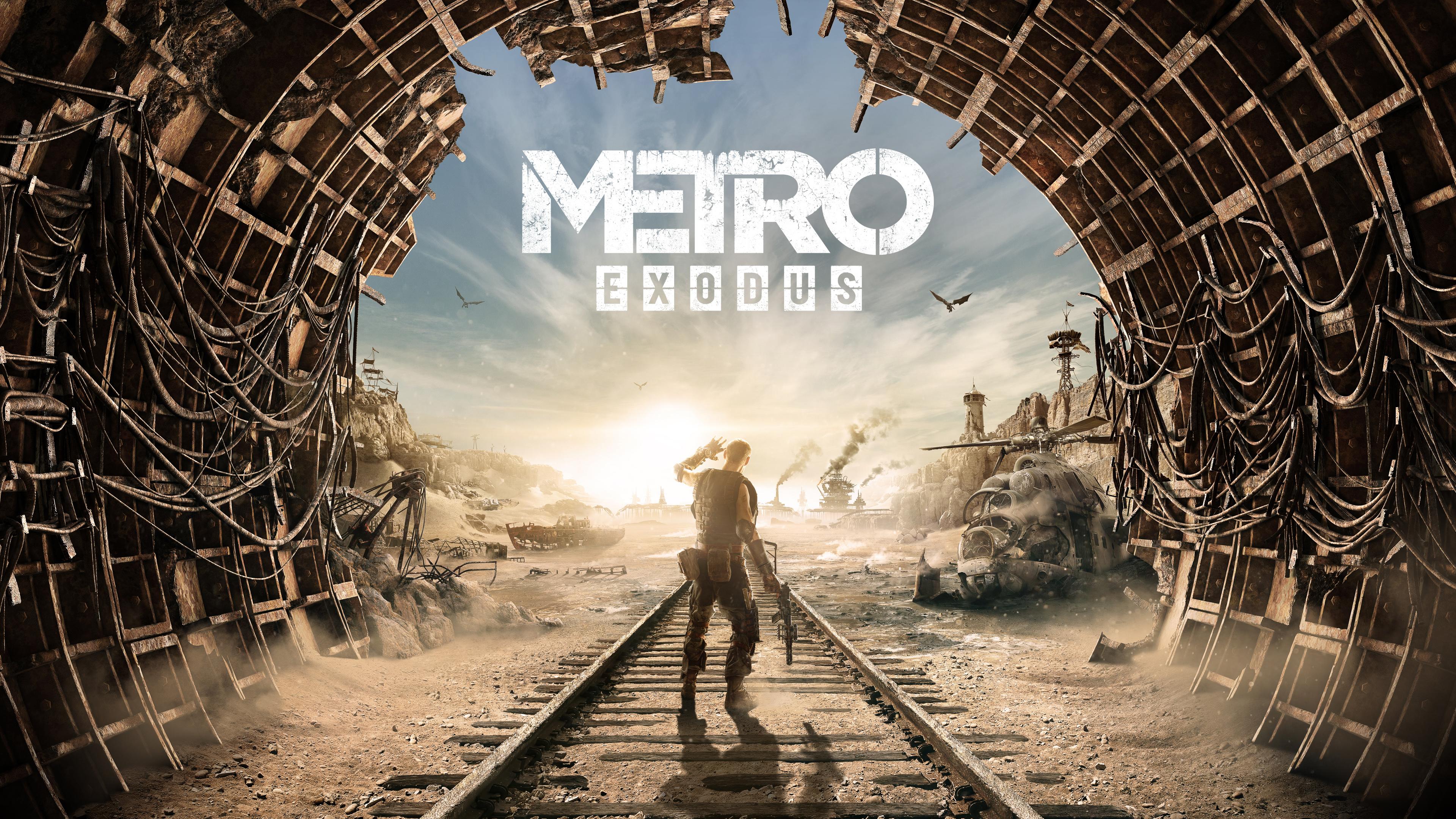 Metro Exodus 4k Ultra Fondo De Pantalla Hd Fondo De