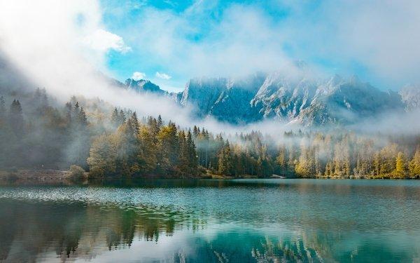 Earth Lake Lakes Nature Mountain HD Wallpaper   Background Image