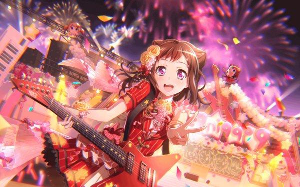 Anime BanG Dream! Kasumi Toyama Fondo de pantalla HD | Fondo de Escritorio