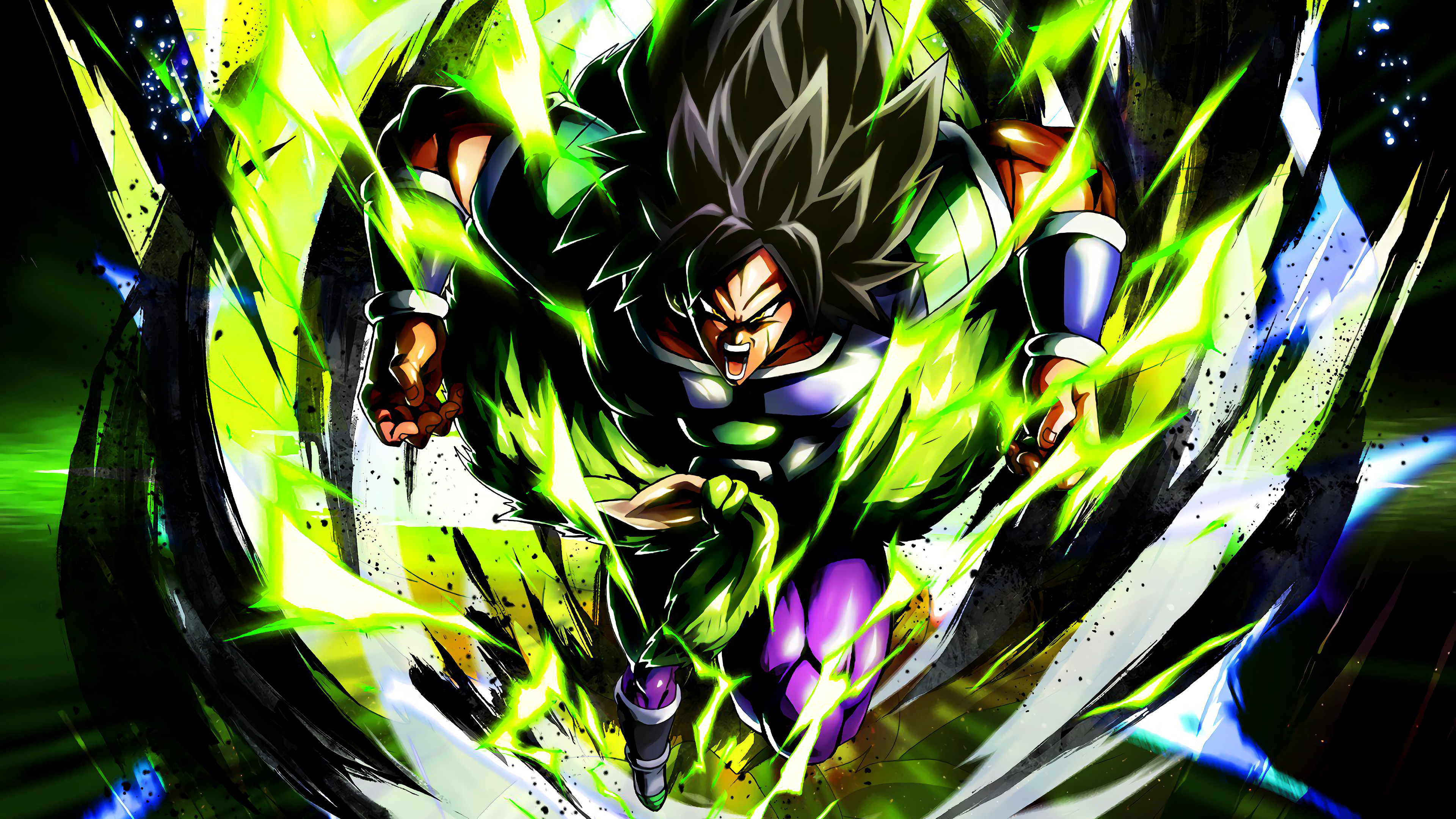 Broly Power 4k Ultra Hd Wallpaper Background Image 3840x2160