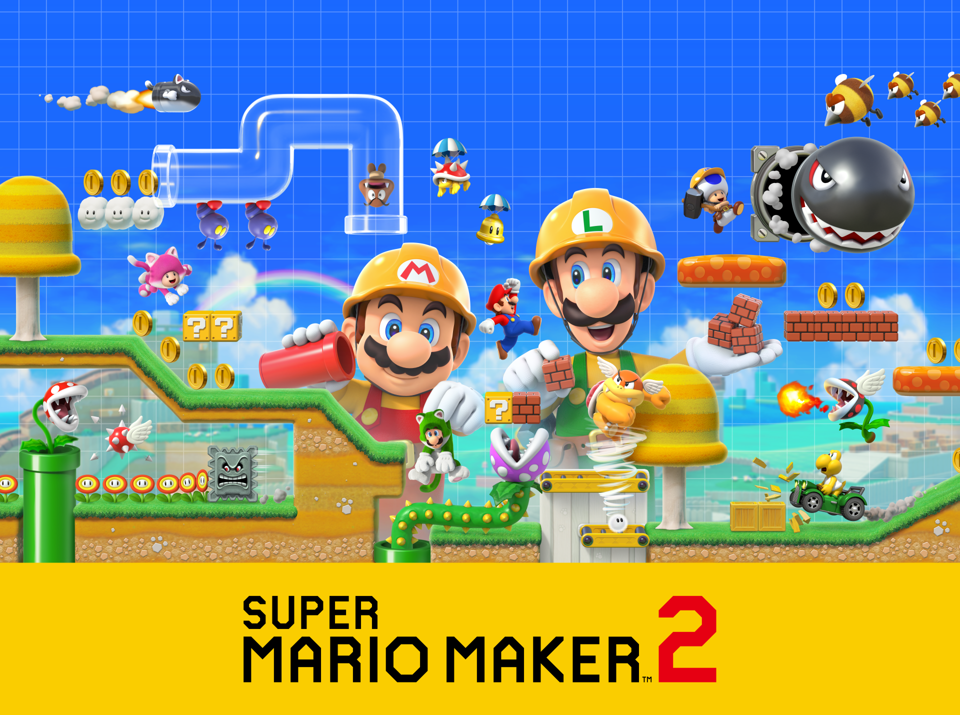 1 Super Mario Maker 2 Hd Wallpapers Background Images