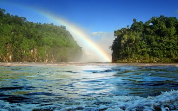 Earth - Rainbow Wallpapers and Backgrounds ID : 99359