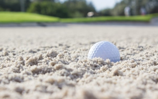 Sports Golf Close-Up Sand HD Wallpaper | Background Image