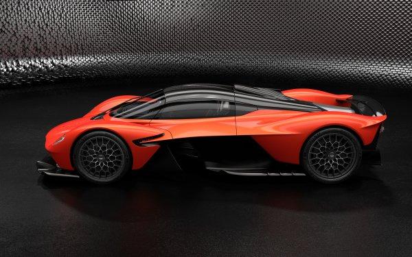 Vehicles Aston Martin Valkyrie Aston Martin Car Orange Car Sport Car Supercar HD Wallpaper   Background Image