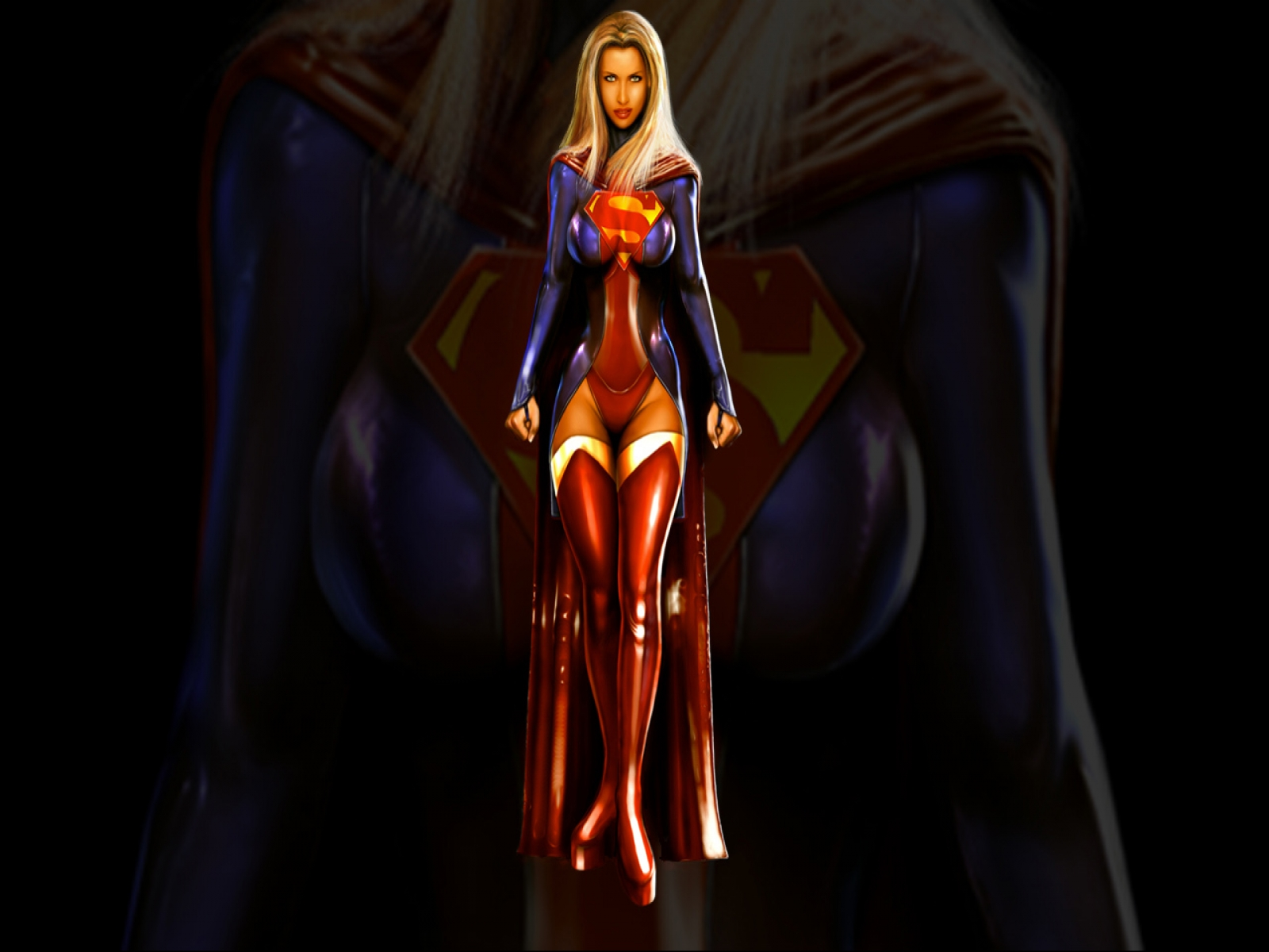 Alpha coders | wallpaper abyss fumetti supergirl 99795