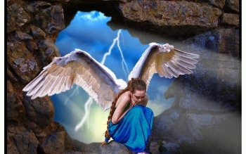 Fantasy - Angel Wallpapers and Backgrounds ID : 99767