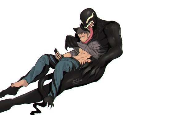 Comics Veneno Eddie Brock Fondo de pantalla HD | Fondo de Escritorio