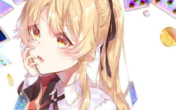 Anime Kakegurui Mary Saotome HD Wallpaper   Background Image