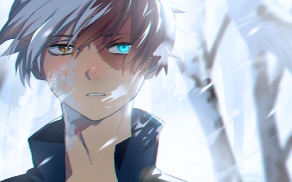 Anime My Hero Academia Shoto Todoroki HD Wallpaper | Background Image