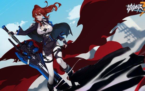 Video Game Honkai Impact 3rd Murata Himeko HD Wallpaper | Background Image