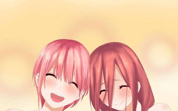 Anime The Quintessential Quintuplets Ichika Nakano Miku Nakano HD Wallpaper | Background Image